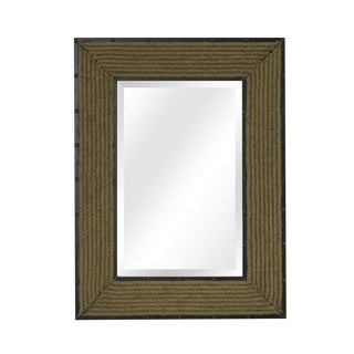 Newport Rope Rectangle Wall Mirror For Sale
