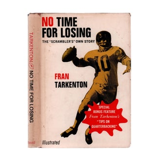 "1967 ""Signed Edition, No Time for Losing: The 'Scrambler's' Own Story"" Collectible Book For Sale"