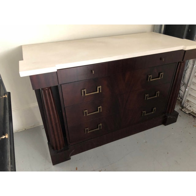 2000s Thomas Pheasant Baker Furniture Temple Chest For Sale - Image 5 of 10