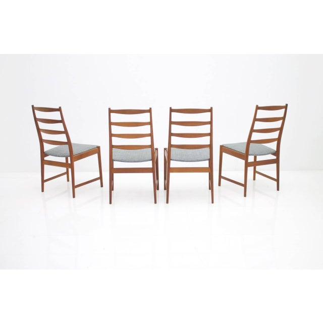 Torbjørn Afdal Teak Dining Chairs by Vamo, Denmark, 1960s For Sale - Image 9 of 12
