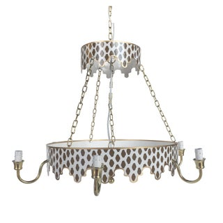 Dana Gibson Brown Parsi Chandelier For Sale