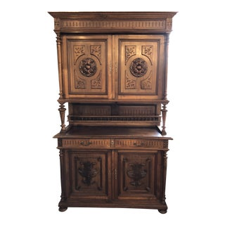 19th Century French Henri II Renaissance Buffet For Sale