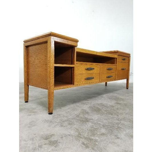 1960s Mid-Century Monteverdi Young Credenza Desk For Sale - Image 13 of 13