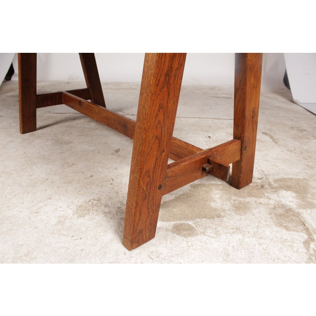 Arts & Crafts-Style Coffee Table - Image 5 of 5