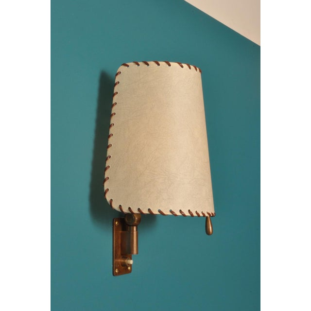 Alfred Muller Wall Lamp, Switzerland 1940s For Sale - Image 10 of 10