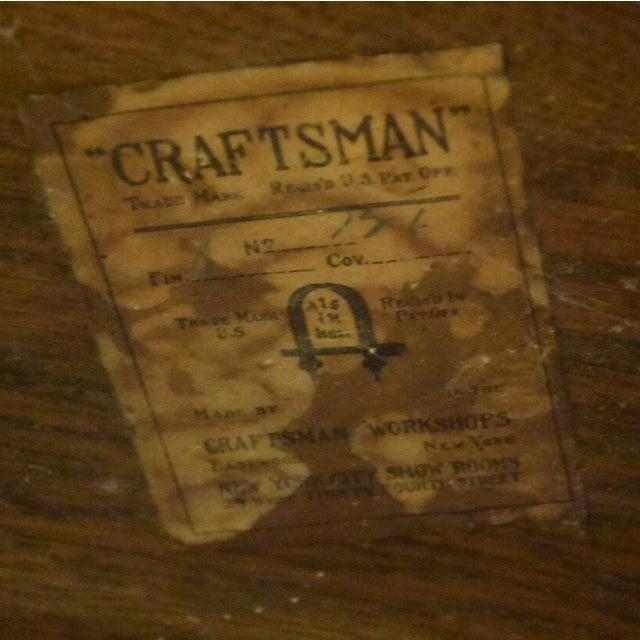 Gustav Stickley Craftsman Desk - Image 10 of 10