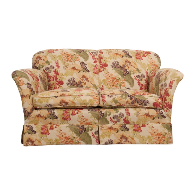 English Vintage Settee Love Seat For Sale