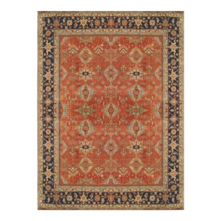 "Pasargad Mahal Wool Area Rug- 9' 0"" x 12' 1"""