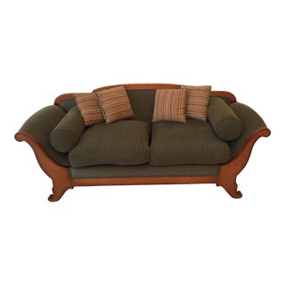 Curvy Cherry Sofa