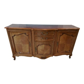 Antique French Wood Sideboard