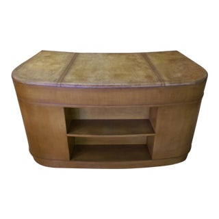 Gilbert Rohde Art Deco Executive Desk For Sale