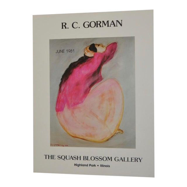 R.C. Gorman 1981 Art Exhibition Poster - Image 1 of 5
