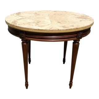 1910s French Louis XVI Side Table or Accent Table For Sale