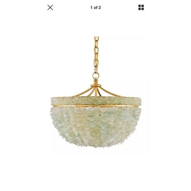 Currey & Company Bayou Sea Glass Coastal Light - Image 4 of 7