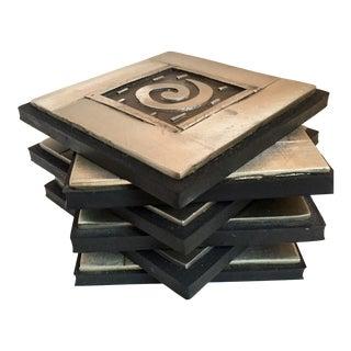 Meryl Waitz, Designer Coasters - Set of 6 For Sale