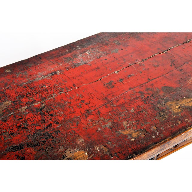 Late Qing Dynasty Chinese Altar Table For Sale - Image 11 of 13