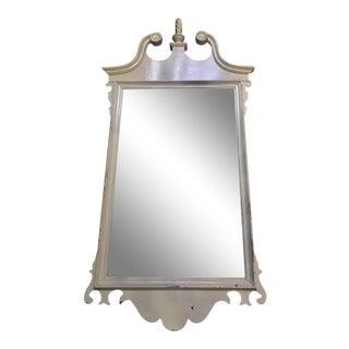 Neoclassical White Mirror