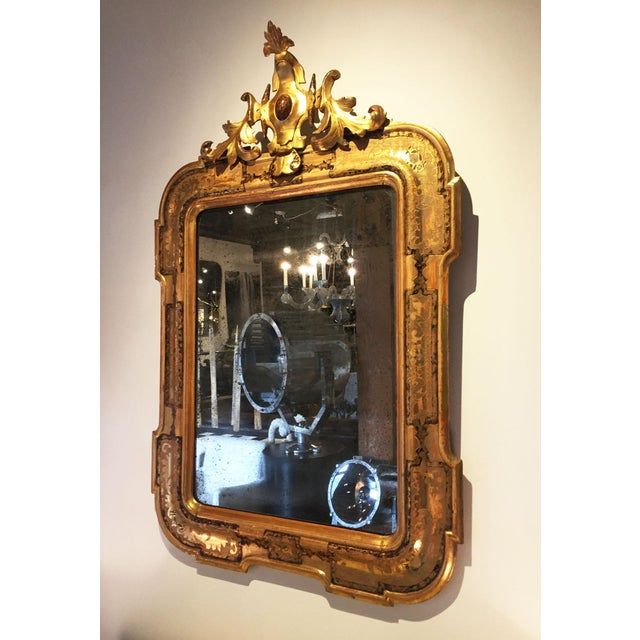 Pair of Venetian Mirrors For Sale - Image 4 of 10