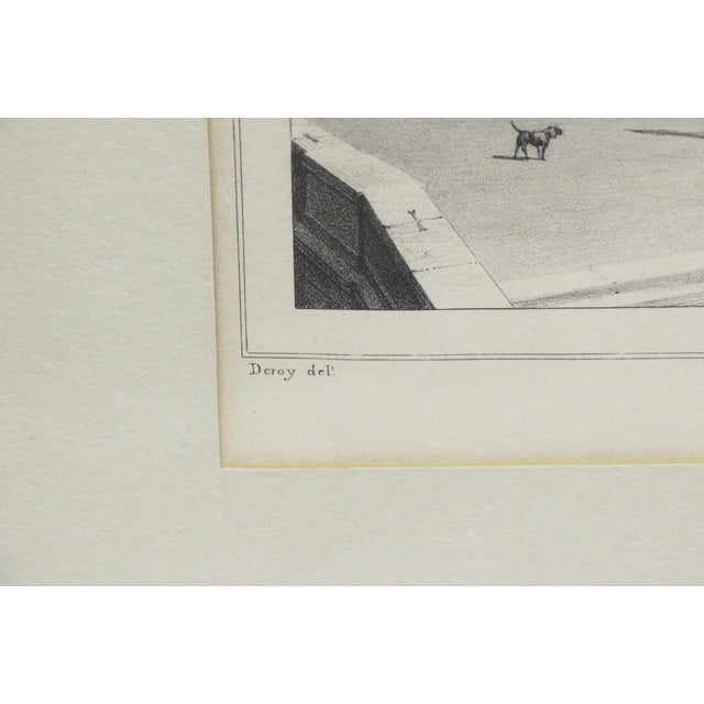 Framed Versailles Lithograph Print For Sale In Richmond - Image 6 of 7