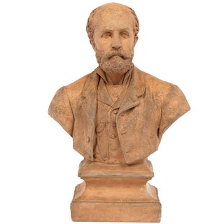 Late 19th Century Terracotta Bust Sculpture