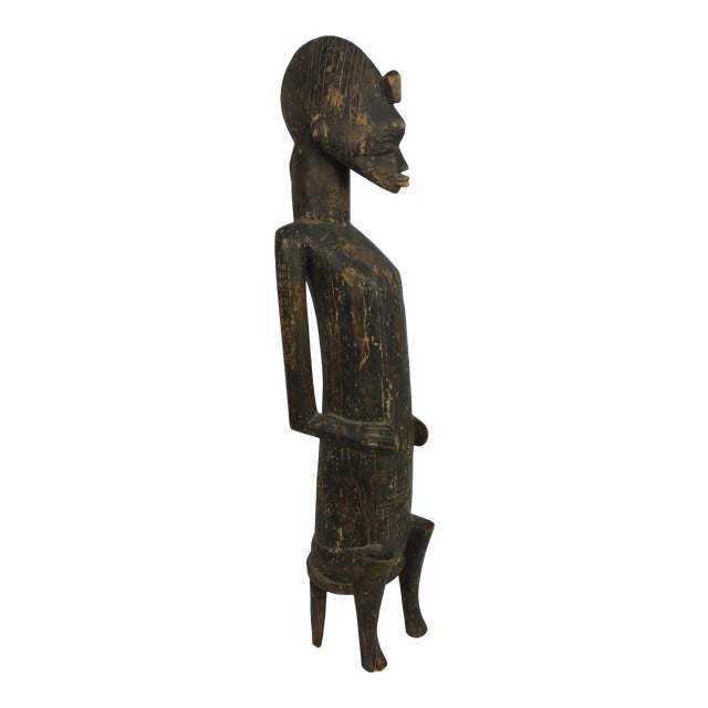 20th Century African Senufo or Ivory Coast Fertility Sculpture For Sale