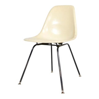 1970s Vintage Herman Miller Fiberglass Shell Chair For Sale
