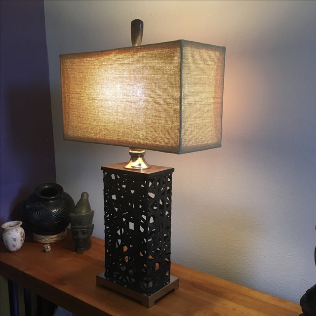 Asian Contemporary Lamp - Image 3 of 5