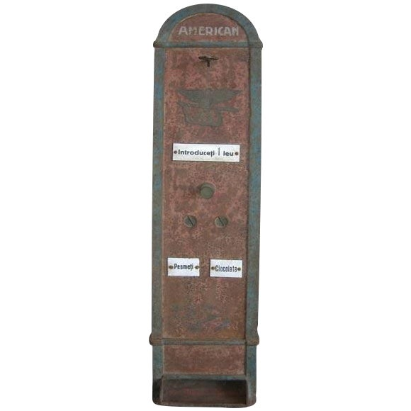 Bombon And Chocolate Pre-War Vending Machine - Image 1 of 5