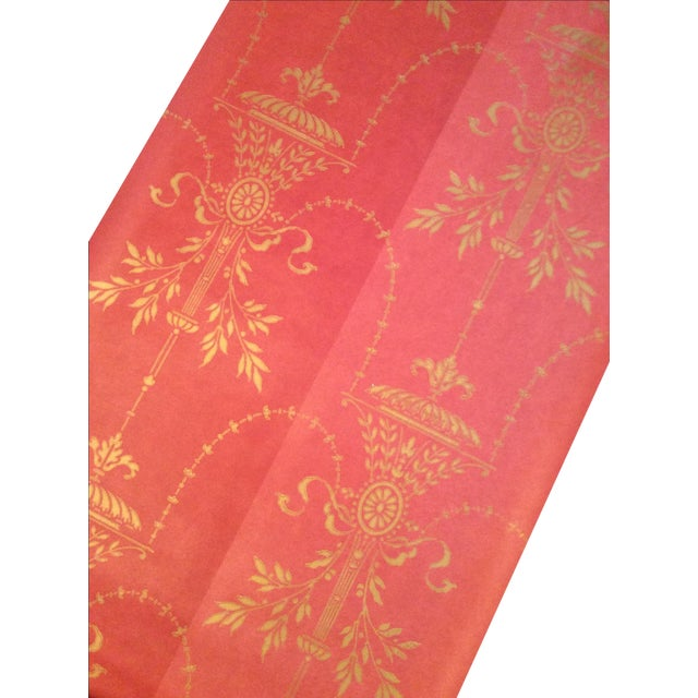 Cole & Son Dorset 2-Toned Red Wallpaper - 10 Rolls - Image 5 of 8