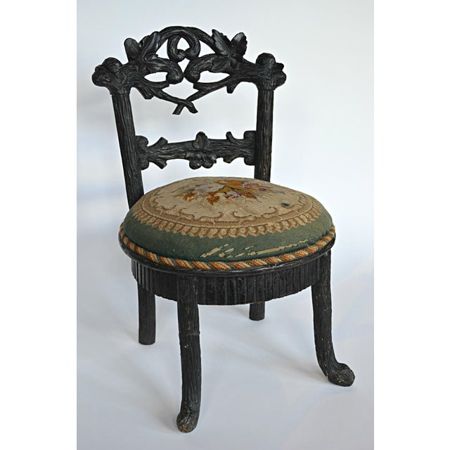 19th Century Black Forest Child's Chair - Image 2 of 10