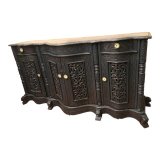 Early 20th Century Indonesian Buffet For Sale