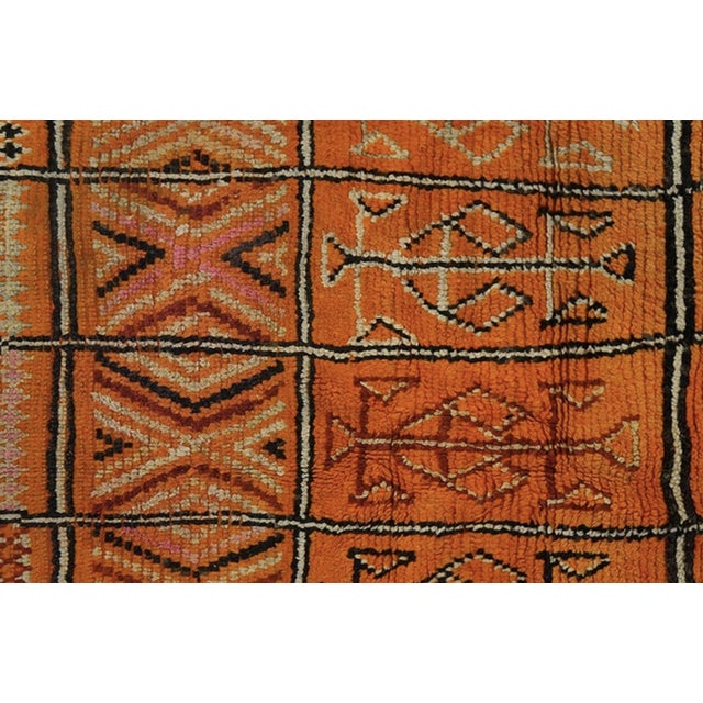 1930s 1930s Antique Moroccan Rug For Sale - Image 5 of 6