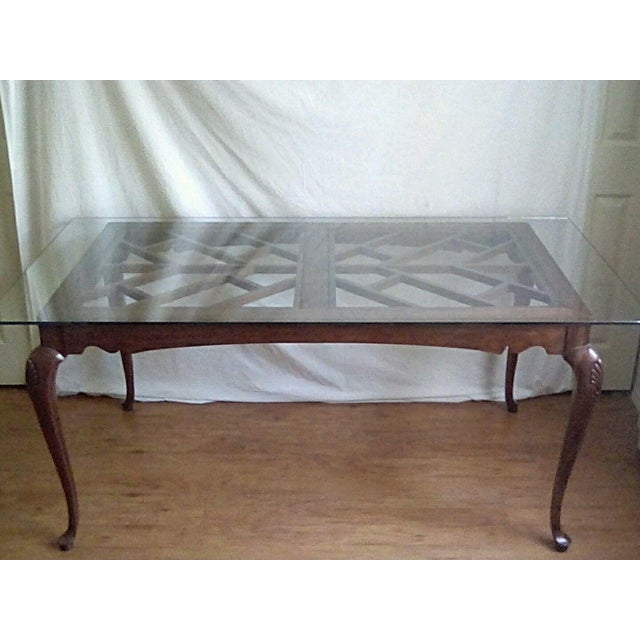French Country 20th Century French Country Dining Table For Sale - Image 3 of 11