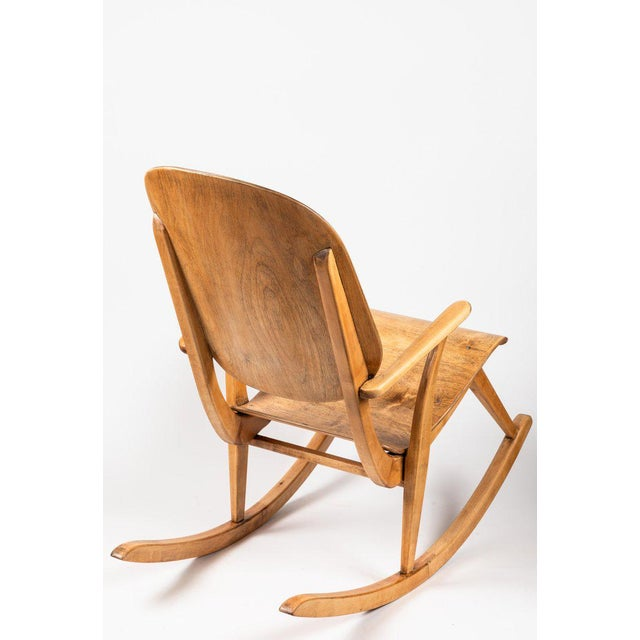 1940s 1940s Vintage Ilmari Tapiovaara Rocking Chair For Sale - Image 5 of 13