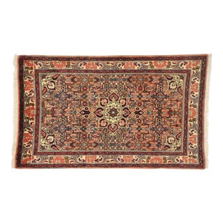 Vintage Bijar Persian Rug With Traditional Style - 02'07 X 04'01 For Sale