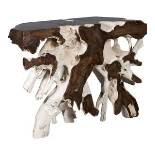 Javanese Reclaimed Teak Root Altar Table For Sale