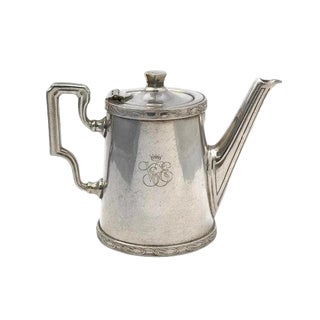 20th Century Art Deco Ercuis Silver Orient Express Coffee Pot