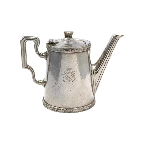 20th Century Art Deco Ercuis Silver Orient Express Coffee Pot For Sale