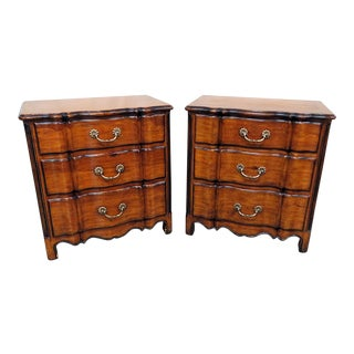 Theodore Alexander Chateau Du Vallois Commodes - a Pair For Sale