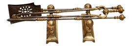 Image of Gold Fireplace Tools and Sets