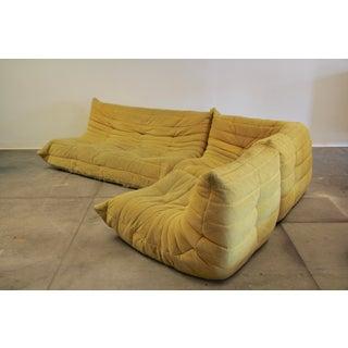 1990s Vintage Ligne Roset Vintage Togo Sofa Preview