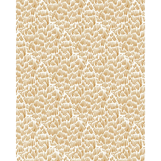 2010s Gaar Gold Wallpaper - 1 Double Roll For Sale - Image 5 of 5