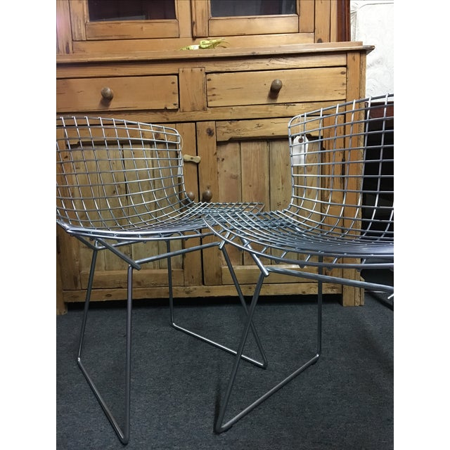 Knoll Bertoia Chairs - A Pair - Image 6 of 6