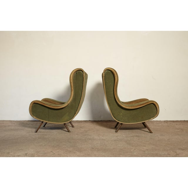 1960s 1960s Vintage Arflex Marco Zanuso Senior Chairs - a Pair For Sale - Image 5 of 10