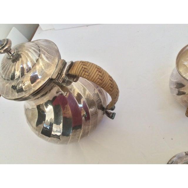 Purity Italian Silver Tea Service - Set of 4 - Image 10 of 11