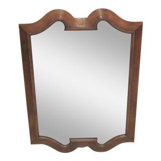 Bodart Provencial Scalloped Mirror For Sale