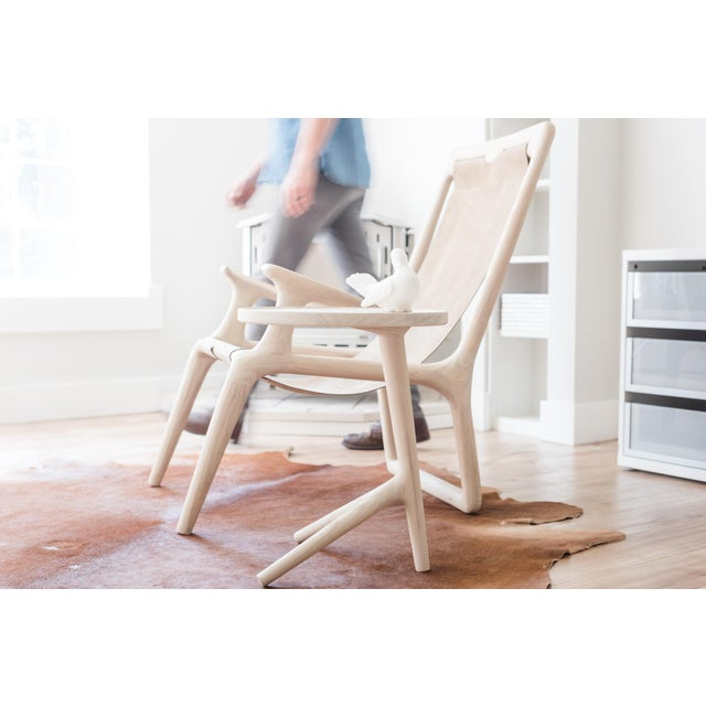 White Ash Tripod Nesting End Tables - Set of 3 For Sale - Image 9 of 10