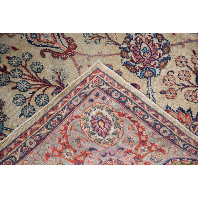 Distressed Kazvin Carpet 710 X 109 Chairish