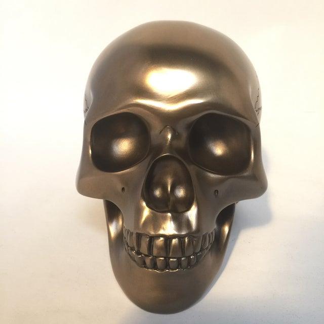 Large Bronze Skull - Image 4 of 8