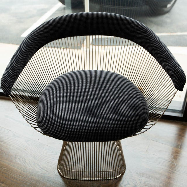 Mid-Century Modern Warren Platner Side Chair for Knoll For Sale - Image 3 of 10